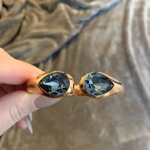 Stunning Swarovski hinge bracelet